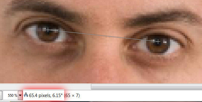 Eye measure