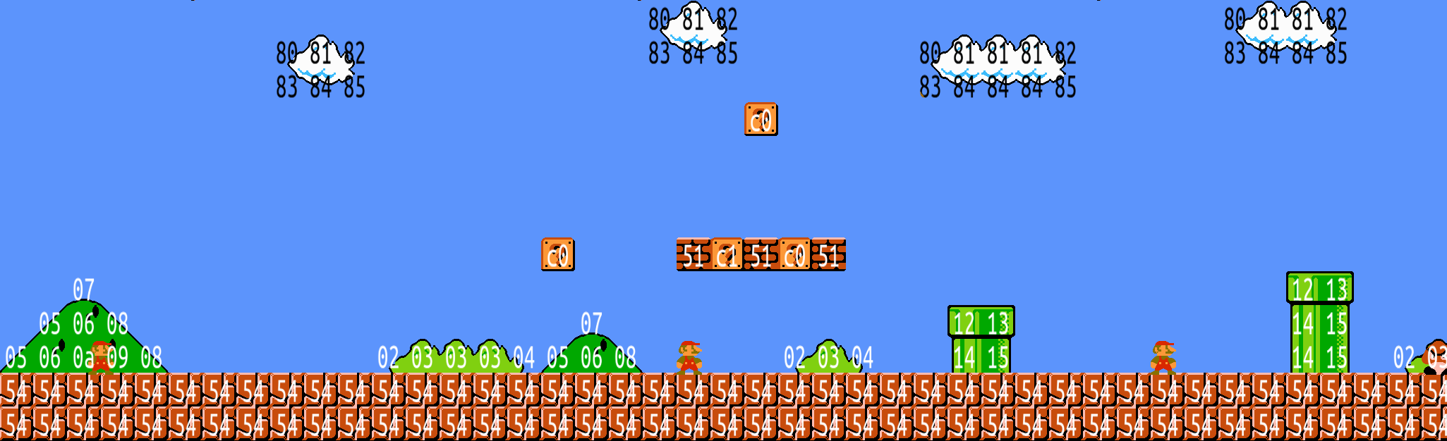 Extracting Super Mario Bros levels with Python - Matt\'s ramblings